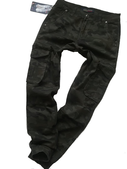 4abec8438 Pánské army maskáčové kalhoty - kapsy | cubestore